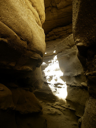 Slot Caves in Anza Borrego