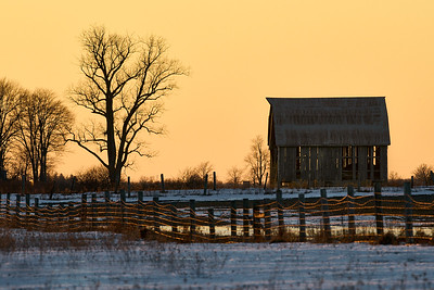 Rural Ontario Sunset