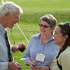 2009 Commencement/Reunion Weekend (L to R: Paul Munson '47, Jessica Kemm '74, and Sasha Boak-Kelly)