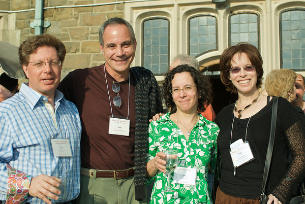 2009 Commencement/Reunion Weekend  (L to R: Ric Lewit '84, Matt Canzonetti '84, Alison Guss, and Anne Jennings Canzonetti '84)