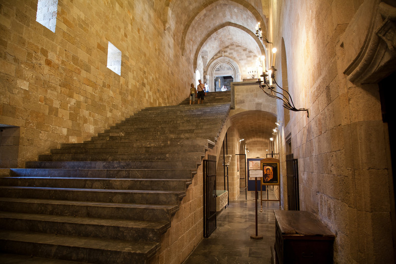Palace of the Grand Masters, Rhodes Town, Rhodes, Greece