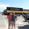 Kendall and Garrett at Wall Drugs in Sturgis