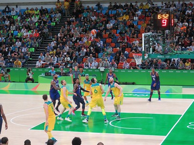 Men's Basketball: USA beats Australia 93-88