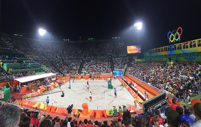 Men's Beach Volleyball: Italy vs. Tunisia