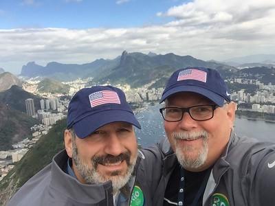 Joe and Ed at Sugarloaf Mountain