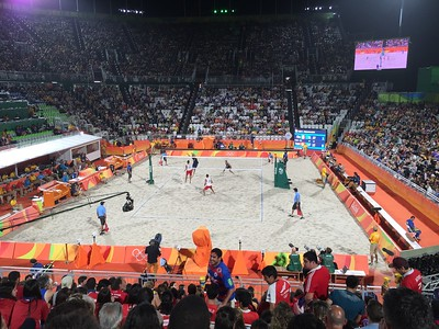 More Men's Beach Volleyball
