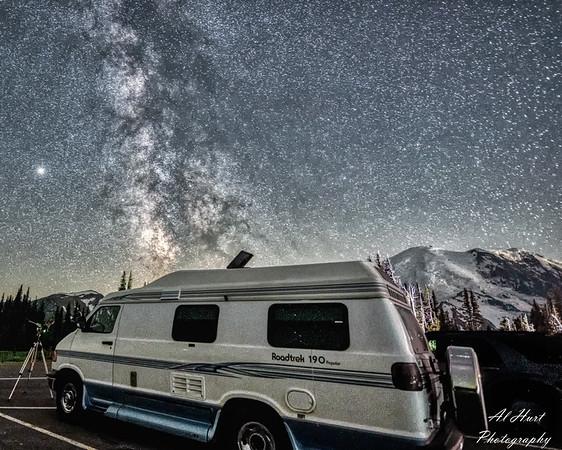 Mt Rainier, Sunrise Visitors Center