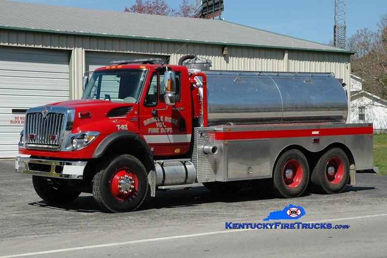 <center> Brindle Ridge  Tanker 82 <br> 2012 International 7500/Firovac 0/2600 <br> Greg Stapleton photo <br> </center>