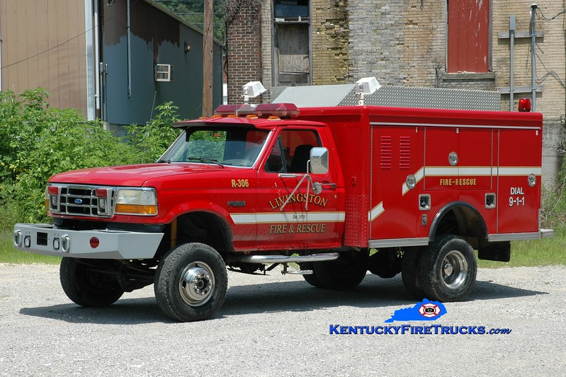 <center> Livingston  Rescue 306 <br> 1992 Ford F SD 4x4/2015 Wynn <br> Greg Stapleton photo <br> </center>