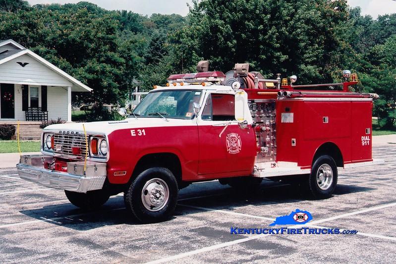 <center> RETIRED <br> Livingston  Engine 31 <br> 1978 Dodge/Darley 400/350 <br> Greg Stapleton photo <br> </center>