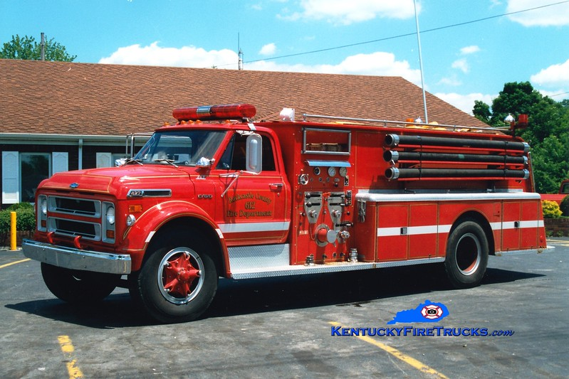 <center> RETIRED <br> Mount Vernon-Rockcastle County Rescue 612 <br> 1971 Chevy C/Bruco 750/1500  <br> Greg Stapleton photo <br> </center>