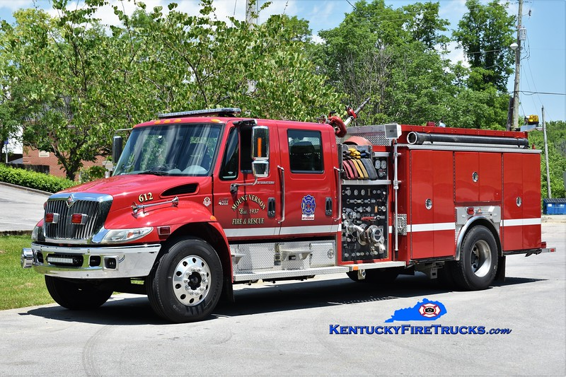 Mount Vernon  Engine 612<br /> 2004 International 4400/Ferrara 1250/750/30<br /> Greg Stapleton photo