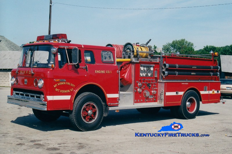<center> RETIRED <br> Mount Vernon  Engine 611 <br> 1979 Ford C-900/Jaco 1000/750 <br> Greg Stapleton photo <br> </center>