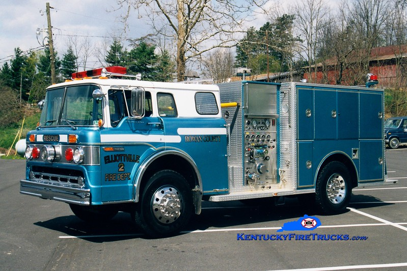 <center> RETIRED <br> Elliottville  Engine 2  <br> x-Tamaqua, PA <br> 1980 Ford C/Darley 750/500 <br> Greg Stapleton photo </center>