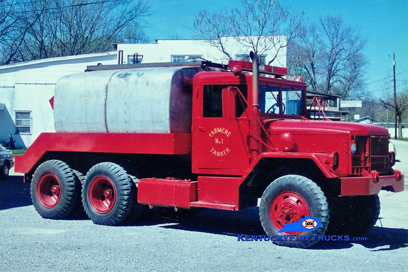 RETIRED <br /> x-US Army<br /> Farmers  Tanker 1<br /> 1972 AM General M35/Local 250/2000<br /> Greg Stapleton photo
