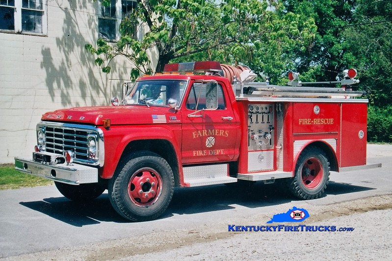 RETIRED <br /> Farmers  Engine 2<br /> x-Montgomery County, KY <br /> 1978 Ford F/E-One 250/500<br /> Greg Stapleton photo