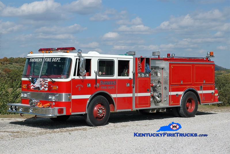 Farmers  Engine 5<br /> x-Edge Hill, PA <br /> 1980 Duplex/1991 Pierce Arrow 1250/1000/40 <br /> Greg Stapleton photo