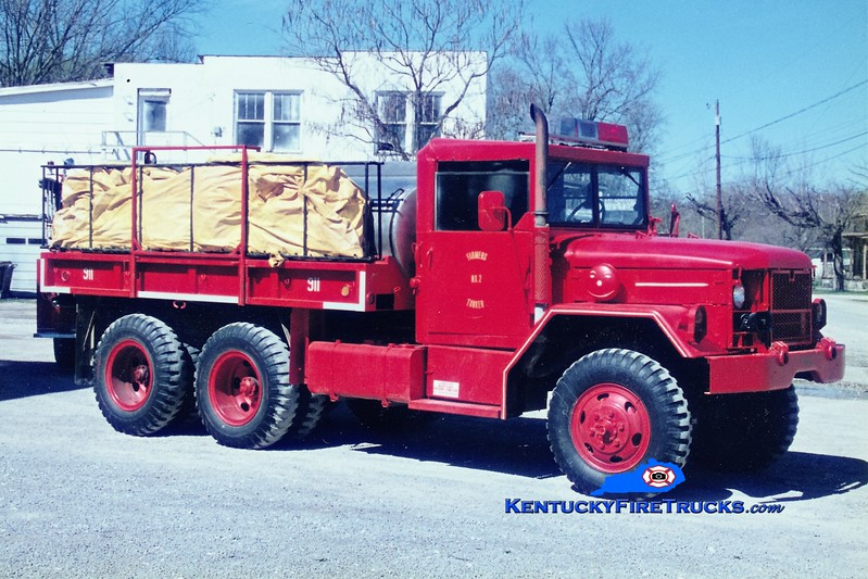 RETIRED <br /> x-US Army<br /> Farmers  Tanker 2<br /> 1973 AM General M42/Local 250/1200<br /> Greg Stapleton photo