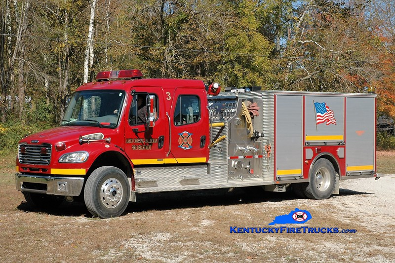 Hayes Crossing-Haldeman  Engine 3<br /> 2006 Freightliner M2-106/American LaFrance 1500/1000<br /> Greg Stapleton photo