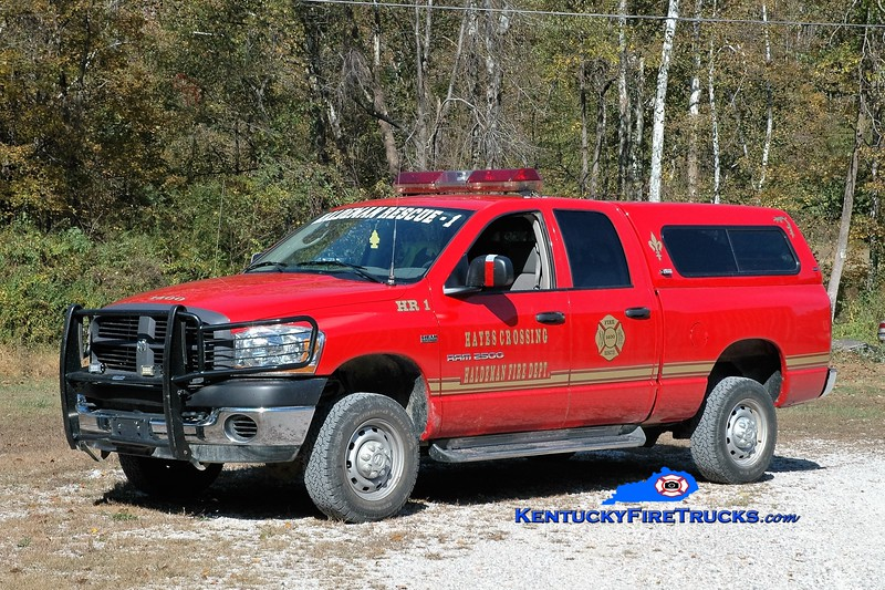 Hayes Crossing-Haldeman  Rescue 1<br /> 2006 Dodge 2500 4x4<br /> Greg Stapleton photo