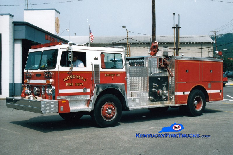 <center> RETIRED <br> Morehead  Engine 7  <br> 1980 Hendrickson/Pierce 1250/1000 <br> Greg Stapleton photo </center>