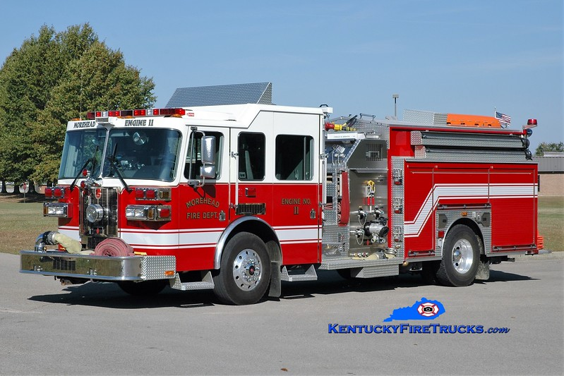Morehead  Engine 11<br /> 2009 Sutphen Shield 1500/750<br /> Greg Stapleton photo