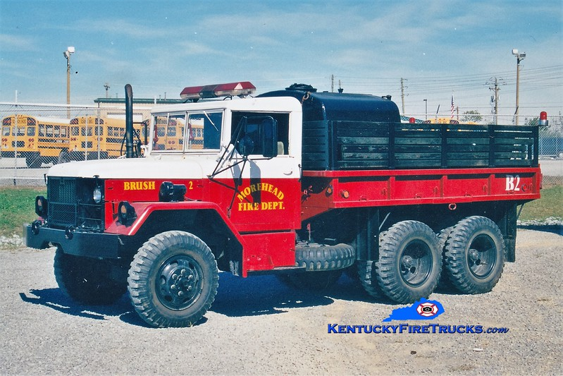 RETIRED <br /> Morehead  Brush 2<br /> 1982 AM General/FD 250/600<br /> Greg Stapleton photo