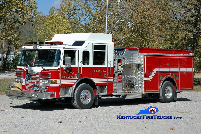 Morehead  Engine 10<br /> 2005 Pierce Enforcer 1500/750<br /> Greg Stapleton photo