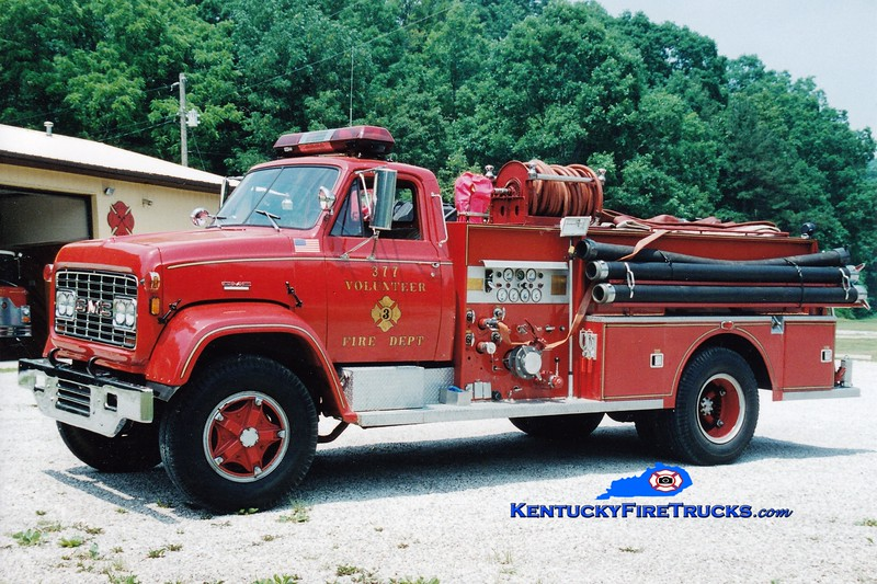 <center> RETIRED <br> Route 377 Engine 7  <br> x-US Navy <br> 1969 GMC/FTI 750/500 <br> Greg Stapleton photo </center>