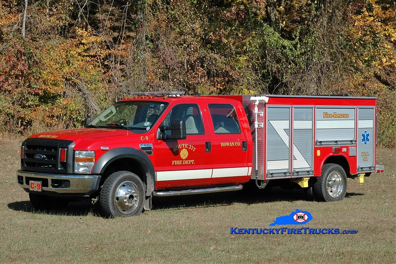 Route 377  Rescue 9<br /> 2007 Ford F-550 4x4/Fouts Bros <br /> Greg Stapleton photo