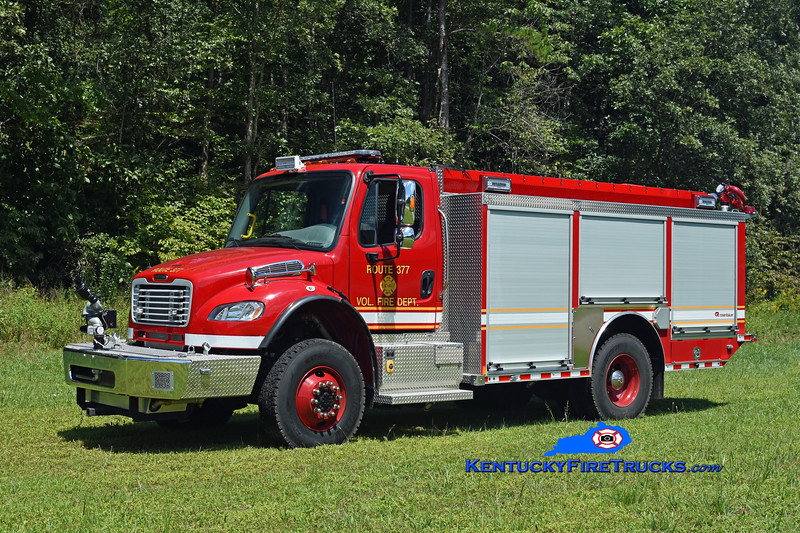Route 377  Engine 11<br /> 2019 Freightliner M2-106 4x4/Rosenbauer 1250/750<br /> Kent Parrish photo