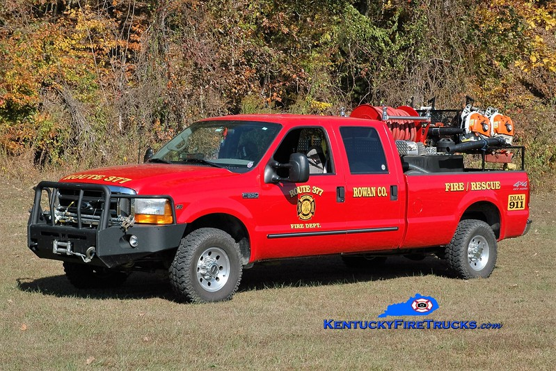 Route 377  Brush 10<br /> 2000 Ford F-350 4x4/RKO 250/250<br /> Greg Stapleton photo