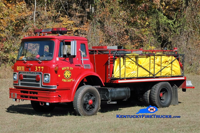 Route 377  Tanker 5<br /> x-US Air Force <br /> 1980 International CO1850/FD 250/1500<br /> Greg Stapleton photo