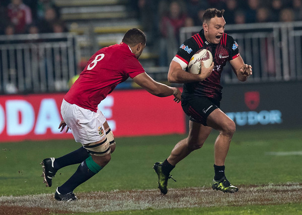 Israel Dagg during game 3 of the British and Irish Lions 2017 Tour of New Zealand,The match between  Crusaders and British and Irish Lions, AMI Stadium, Christchurch, Saturday 10th June 2017 (Photo by Kevin Booth Steve Haag Sports)  Images for social media must have consent from Steve Haag