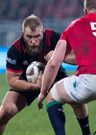 Owen Franks during game 3 of the British and Irish Lions 2017 Tour of New Zealand,The match between  Crusaders and British and Irish Lions, AMI Stadium, Christchurch, Saturday 10th June 2017 (Photo by Kevin Booth Steve Haag Sports)  Images for social media must have consent from Steve Haag