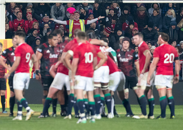Lions Win during game 3 of the British and Irish Lions 2017 Tour of New Zealand,The match between  Crusaders and British and Irish Lions, AMI Stadium, Christchurch, Saturday 10th June 2017 (Photo by Kevin Booth Steve Haag Sports)  Images for social media must have consent from Steve Haag