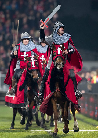 Crusader Horsemen during game 3 of the British and Irish Lions 2017 Tour of New Zealand,The match between  Crusaders and British and Irish Lions, AMI Stadium, Christchurch, Saturday 10th June 2017 (Photo by Kevin Booth Steve Haag Sports)  Images for social media must have consent from Steve Haag