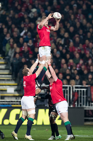 George Kruis during game 3 of the British and Irish Lions 2017 Tour of New Zealand,The match between  Crusaders and British and Irish Lions, AMI Stadium, Christchurch, Saturday 10th June 2017 (Photo by Kevin Booth Steve Haag Sports)  Images for social media must have consent from Steve Haag