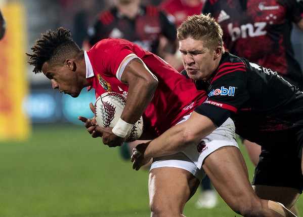 Anthony Watson during game 3 of the British and Irish Lions 2017 Tour of New Zealand,The match between  Crusaders and British and Irish Lions, AMI Stadium, Christchurch, Saturday 10th June 2017 (Photo by Kevin Booth Steve Haag Sports)  Images for social media must have consent from Steve Haag