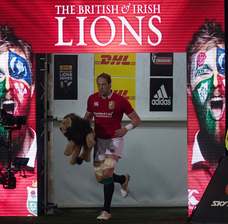 Alun Wyn Jones during game 3 of the British and Irish Lions 2017 Tour of New Zealand,The match between  Crusaders and British and Irish Lions, AMI Stadium, Christchurch, Saturday 10th June 2017 (Photo by Kevin Booth Steve Haag Sports)  Images for social media must have consent from Steve Haag