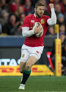 Elliot Daly during game 4 of the British and Irish Lions 2017 Tour of New Zealand,The match between  Highlanders and British and Irish Lions, Forsyth Barr Stadium, Dunedin, Tuesday 13th June 2017 (Photo by Kevin Booth Steve Haag Sports)  Images for social media must have consent from Steve Haag