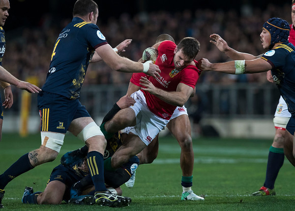 during game 4 of the British and Irish Lions 2017 Tour of New Zealand,The match between  Highlanders and British and Irish Lions, Forsyth Barr Stadium, Dunedin, Tuesday 13th June 2017 (Photo by Kevin Booth Steve Haag Sports)  Images for social media must have consent from Steve Haag
