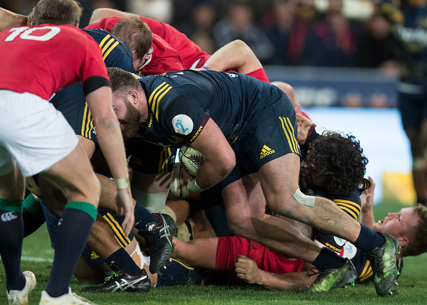 Liam Coltman, during game 4 of the British and Irish Lions 2017 Tour of New Zealand,The match between  Highlanders and British and Irish Lions, Forsyth Barr Stadium, Dunedin, Tuesday 13th June 2017 (Photo by Kevin Booth Steve Haag Sports)  Images for social media must have consent from Steve Haag
