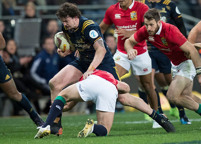 Richard Buckman, during game 4 of the British and Irish Lions 2017 Tour of New Zealand,The match between  Highlanders and British and Irish Lions, Forsyth Barr Stadium, Dunedin, Tuesday 13th June 2017 (Photo by Kevin Booth Steve Haag Sports)  Images for social media must have consent from Steve Haag