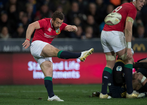 Greig Laidlaw, during game 4 of the British and Irish Lions 2017 Tour of New Zealand,The match between  Highlanders and British and Irish Lions, Forsyth Barr Stadium, Dunedin, Tuesday 13th June 2017 (Photo by Kevin Booth Steve Haag Sports)  Images for social media must have consent from Steve Haag