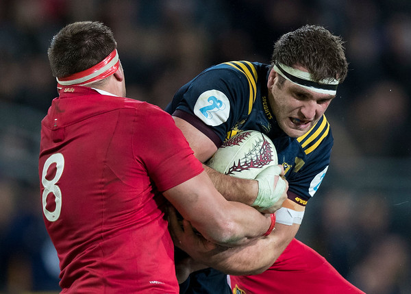 Luke Whitelock, during game 4 of the British and Irish Lions 2017 Tour of New Zealand,The match between  Highlanders and British and Irish Lions, Forsyth Barr Stadium, Dunedin, Tuesday 13th June 2017 (Photo by Kevin Booth Steve Haag Sports)  Images for social media must have consent from Steve Haag