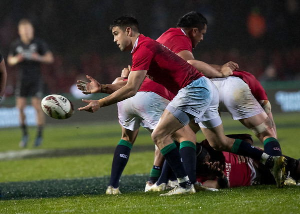 Conor Murray during game 5 of the British and Irish Lions 2017 Tour of New Zealand,The match between  The Maori All Blacks and British and Irish Lions, Rotorua International Stadium, Rotorua, Saturday 17th June 2017 (Photo by Kevin Booth Steve Haag Sports)  Images for social media must have consent from Steve Haag