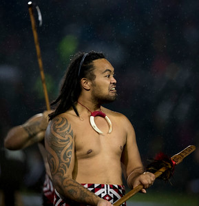 Pregame Maori dancers during game 5 of the British and Irish Lions 2017 Tour of New Zealand,The match between  The Maori All Blacks and British and Irish Lions, Rotorua International Stadium, Rotorua, Saturday 17th June 2017 (Photo by Kevin Booth Steve Haag Sports)  Images for social media must have consent from Steve Haag