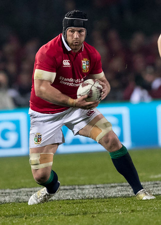 Sean O'Brien during game 5 of the British and Irish Lions 2017 Tour of New Zealand,The match between  The Maori All Blacks and British and Irish Lions, Rotorua International Stadium, Rotorua, Saturday 17th June 2017 (Photo by Kevin Booth Steve Haag Sports)  Images for social media must have consent from Steve Haag