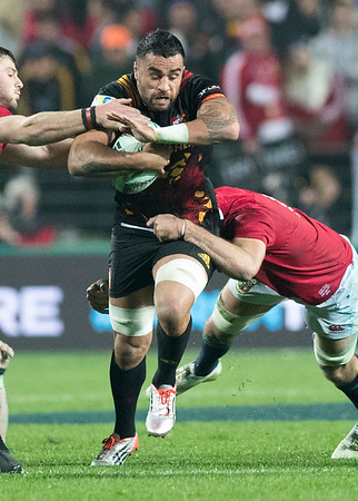Liam Messam during game 6 of the British and Irish Lions 2017 Tour of New Zealand,The match between  The Chiefs and British and Irish Lions, FMG Stadium, Hamilton, Tuesday 20th June 2017 (Photo by Kevin Booth Steve Haag Sports)  Images for social media must have consent from Steve Haag